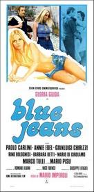 Blue Jeans - Italian Movie Poster (xs thumbnail)