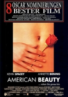 American Beauty - German Movie Poster (xs thumbnail)