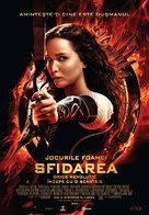 The Hunger Games: Catching Fire - Romanian Movie Poster (xs thumbnail)