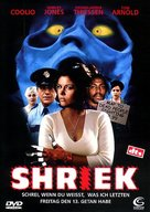 Shriek If You Know What I Did Last Friday The Thirteenth - German DVD cover (xs thumbnail)