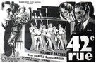 42nd Street - French Movie Poster (xs thumbnail)