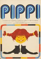 Pippi Långstrump - Polish Movie Poster (xs thumbnail)