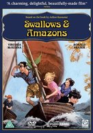 Swallows and Amazons - British DVD cover (xs thumbnail)