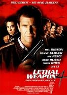 Lethal Weapon 4 - German Movie Poster (xs thumbnail)