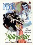 The Million Pound Note - Spanish DVD cover (xs thumbnail)