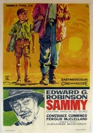 Sammy Going South - Spanish Movie Poster (xs thumbnail)