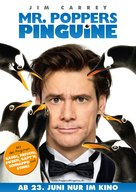 Mr. Popper's Penguins - German Movie Poster (xs thumbnail)