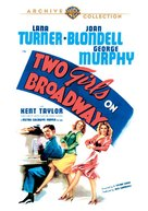Two Girls on Broadway - Movie Cover (xs thumbnail)
