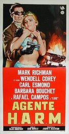 Agent for H.A.R.M. - Italian Movie Poster (xs thumbnail)