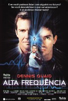 Frequency - Brazilian Movie Poster (xs thumbnail)