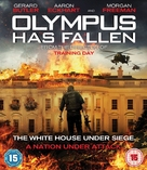 Olympus Has Fallen - British Blu-Ray movie cover (xs thumbnail)