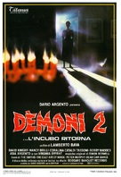 Demoni 2 - Italian Movie Poster (xs thumbnail)