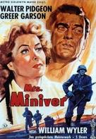 Mrs. Miniver - German Movie Poster (xs thumbnail)