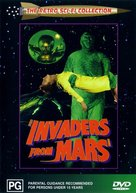 Invaders from Mars - Australian DVD cover (xs thumbnail)