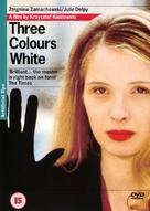 Trois couleurs: Blanc - British DVD movie cover (xs thumbnail)