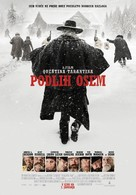 The Hateful Eight - Slovenian Movie Poster (xs thumbnail)