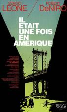 Once Upon a Time in America - French VHS movie cover (xs thumbnail)