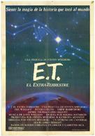 E.T.: The Extra-Terrestrial - Spanish Movie Poster (xs thumbnail)