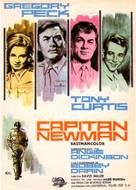 Captain Newman, M.D. - Spanish Movie Poster (xs thumbnail)