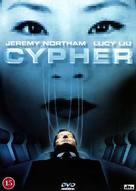 Cypher - Danish DVD cover (xs thumbnail)