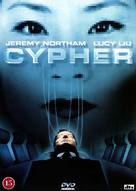 Cypher - Danish DVD movie cover (xs thumbnail)