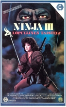 Ninja III: The Domination - Finnish VHS cover (xs thumbnail)