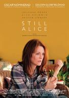 Still Alice - Swedish Movie Poster (xs thumbnail)