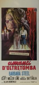 Gli amanti d'oltretomba - Italian Movie Poster (xs thumbnail)