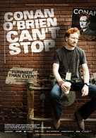 Conan O'Brien Can't Stop - Swedish Movie Poster (xs thumbnail)