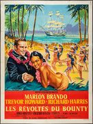 Mutiny on the Bounty - French Movie Poster (xs thumbnail)
