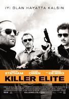 Killer Elite - Turkish Movie Poster (xs thumbnail)