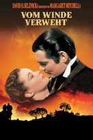 Gone with the Wind - German DVD cover (xs thumbnail)