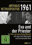 Léon Morin, prêtre - German DVD cover (xs thumbnail)