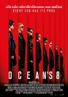 Ocean's 8 - Swedish Movie Poster (xs thumbnail)