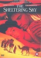 The Sheltering Sky - British DVD cover (xs thumbnail)