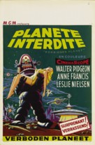 Forbidden Planet - Belgian Movie Poster (xs thumbnail)