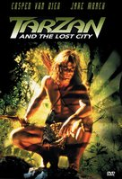 Tarzan and the Lost City - DVD cover (xs thumbnail)