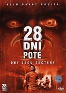 28 Days Later... - Czech DVD cover (xs thumbnail)