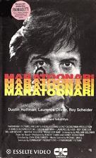 Marathon Man - Finnish VHS movie cover (xs thumbnail)