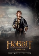 The Hobbit: The Desolation of Smaug - British Movie Poster (xs thumbnail)