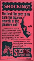 Satanis: The Devil's Mass - Movie Poster (xs thumbnail)