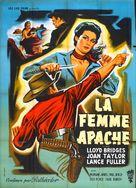 Apache Woman - Belgian Movie Poster (xs thumbnail)