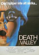 Death Valley - Swedish Movie Poster (xs thumbnail)