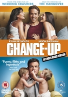 The Change-Up - British DVD movie cover (xs thumbnail)