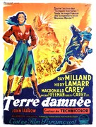 Copper Canyon - French Movie Poster (xs thumbnail)
