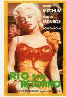 River of No Return - Spanish VHS movie cover (xs thumbnail)