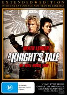 A Knight's Tale - Australian DVD movie cover (xs thumbnail)