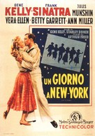 On the Town - Italian Movie Poster (xs thumbnail)