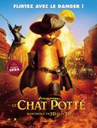 Puss in Boots - French Movie Poster (xs thumbnail)