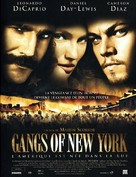 Gangs Of New York - French Movie Poster (xs thumbnail)